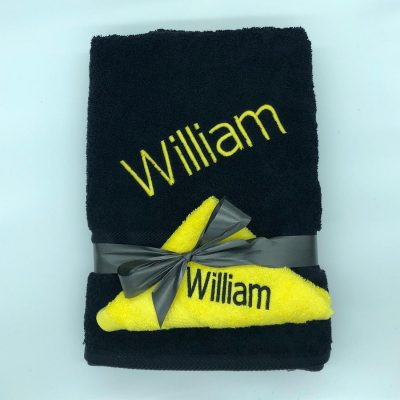 Ritz Set Black and Yellow