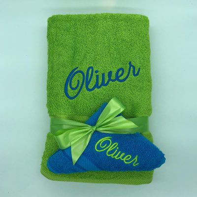 Ritz Gift Set Lime and Aqua