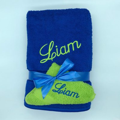 Ritz Gift Set Royal Blue and Lime