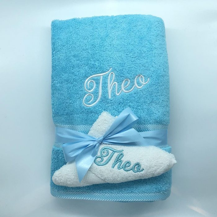 Ritz Gift Set Turquoise and White