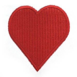 Red Solid Heart