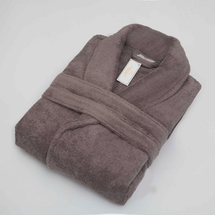 Mildtouch Terry Cloth Robe Charcoal